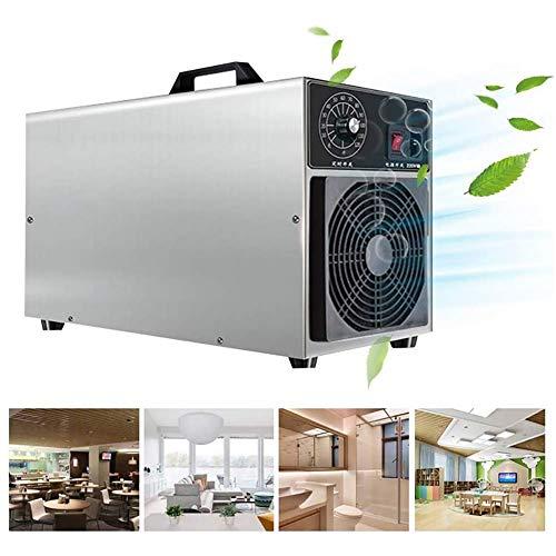 GHDE& Industriële ozongenerator, 30.000 mg/u, krachtige ozonmachine, luchtreiniger voor huis, hotels, kelders, auto en boerderijen
