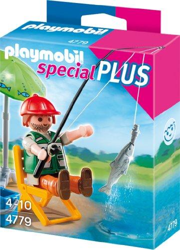 Playmobil 4779 - Angler mit großem Fisch