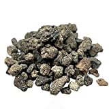 """EasyGoProducts ROK Black Lava Rock – Medium ½"""" – 1"""" in Size – 100% All Natural – fo, Brown"""