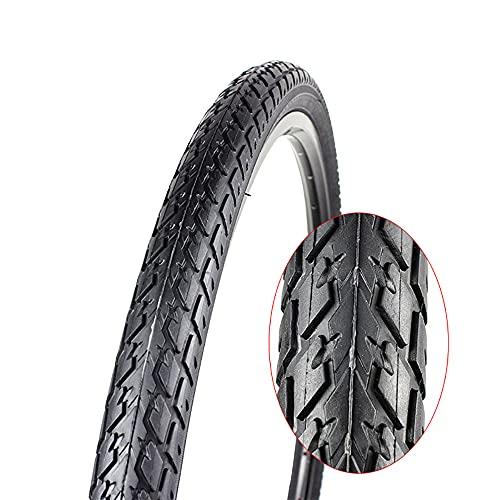 Neumáticos de bicicleta, neumáticos de repuesto para bicicletas de carretera, pinchazos con aro de alambre y protección de flancos, bicicletas de campo traviesa (26 'x1,5, 26' x1,75), 26x1,75