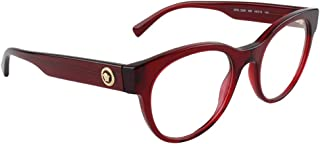 ac959c5d2c85 Versace VE3268 Eyeglass Frames 388-49 - Transparent/Red VE3268-388-49