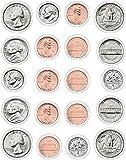 Carson Dellosa Money, U.S. Coins Shape Stickers (5261)