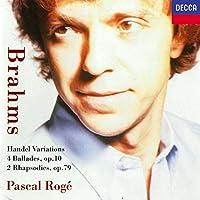 4 Ballades / Handel Variations
