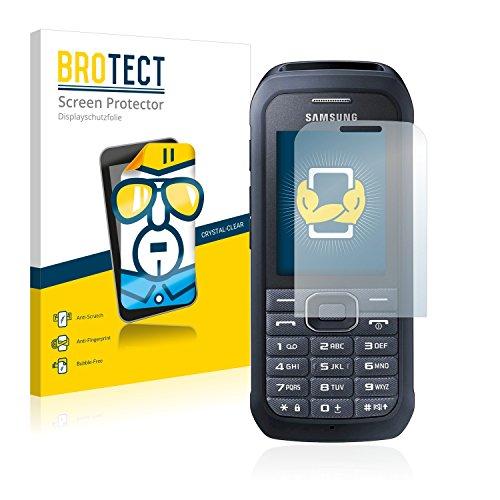 BROTECT Schutzfolie kompatibel mit Samsung Xcover 550 (2 Stück) klare Bildschirmschutz-Folie