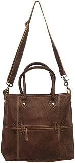 Button & Stitches Genuine Leather Shoulder Bag S-0727