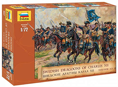 1/72 Swedish Cavalry 17th -18th Century - Dragoons