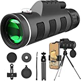 Best Binoculars For Concert Viewings - 40X60 HD Monocular Telescope BAK4 Prism Waterproof Fogproof Review