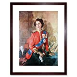 Wee Blue Coo LTD Painting Portrait Queen Elizabeth II