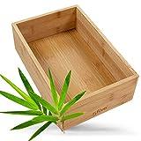 Five5 Ataxis - Caja organizadora de bambú (15 x 38 x 7 x 0,7 cm de grosor)