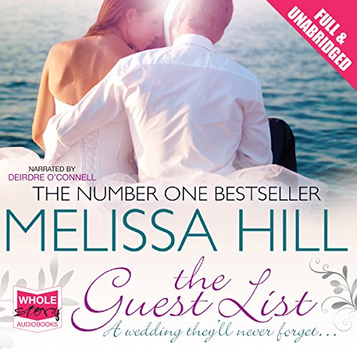The Guest List                   By:                                                                                                                                 Melissa Hill                               Narrated by:                                                                                                                                 Deirdre O'Connell                      Length: 11 hrs and 51 mins     19 ratings     Overall 4.3