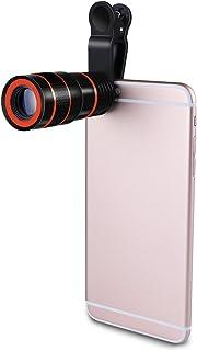 bysonice 8X Zoom Telescoop Telefoon Camera Lens met Clip fit voor iPhone Samsung HTC Andere Mobiele Telefoons