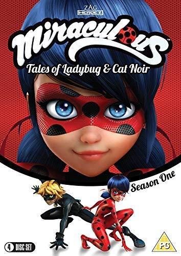 Miraculous Tales of Ladybug & Cat Noir: The Complete Season One [4 disc set] [DVD]
