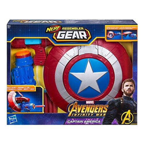 Marvel Avengers- Assembler Gear Capitán América, Talla ú