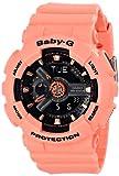 Casio BA-111-4A2CR Baby-G-Digital - Reloj de pulsera para mujer, color naranja
