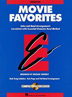 Essential Elements Movie Favorites: Conductor Book with CD