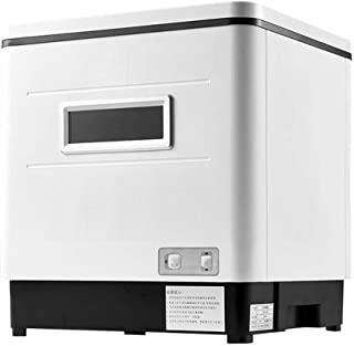 Guoda Lavavajillas Portátil Powerfree Lavavajillas Encimera Lavavajillas 1500W Completamente Automático No Es Necesario Añadir Detergente Esterilización UV