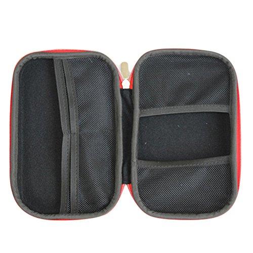 Jecxep First Aid Kit Portable Champ pack ménages Voyage Medical Kits En urgence pour le camping, randonnée, Voyage, Bureau, Sports, Chasse et Accueil
