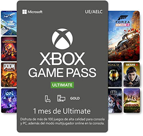 Suscripción Xbox Game Pass Ultimate - 1 Mes | Xbox/Win 10 PC - Código de descarga