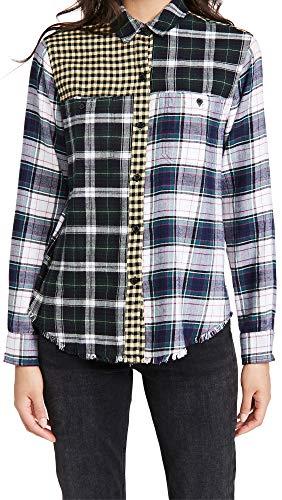 Mixed Plaid Shirt