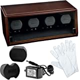 Watch winder rotor BOXY CASTLE 4 NOGAL LED EDITION 24