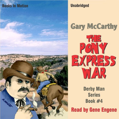 The Pony Express War audiobook cover art