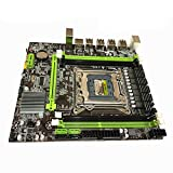 Difcuy X79 Motherboard, 8 USB LGA2011 CPU DDR3 64GB SATA 3.0 LGA 2011 PCI Express 16X M-ATX Mainboard for E5 2630 2650 2660v2 Replacment Control Board