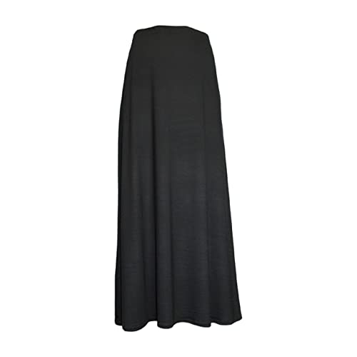 54ecd4a13fcb9 Ozmoint Womens Ladies Long Maxi Skirts Modest Abaya Stretch Full Length  Skirt