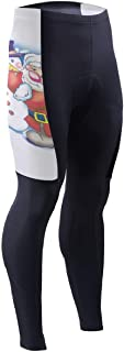 Bei Tang Music Guitar Doodles Mens Cycling Pants 3D Padded Road Bike Tights Cycle Wear