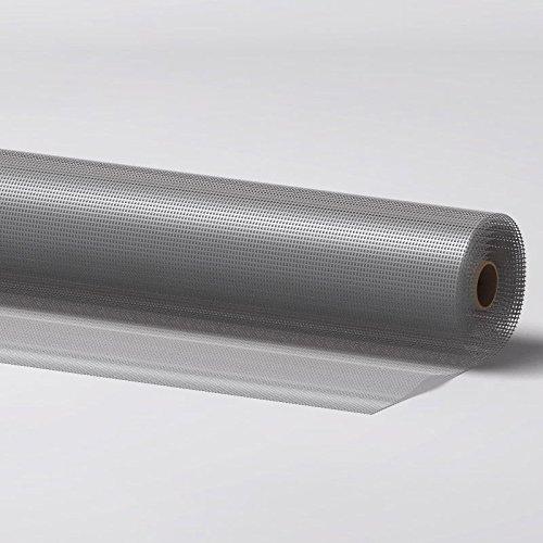 DILUMA Fliegengitter für Fenster und Türen aus Aluminium 120 x 250 cm kürzbar rostfrei luftdurchlässig
