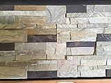 CANU Piedra Natural LAJA CUARCITA Beige Y Morado.Medidas 45x18x2cm .Precio por 1m2. Nuestros Materiales se descargan a pie de Calle.