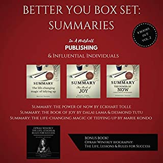 Better You Boxset: Summaries: 4 Books in 1! (Vol. 2) audiobook cover art