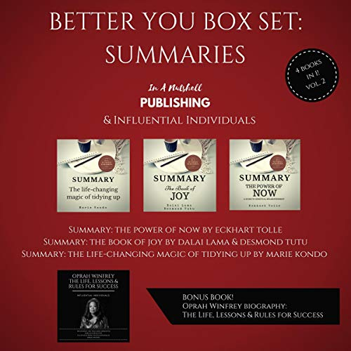 『Better You Boxset: Summaries: 4 Books in 1! (Vol. 2)』のカバーアート
