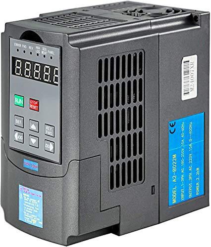 Variateur de fréquence de 3HP 2,2KW, Nouveau Entraînement à fréquence Variable 10A 220-250V, INVERSEUR VFD