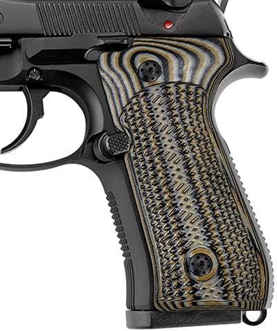 Cool San Antonio Mall Hand G10 Grips for Beretta 92 92a1 m9 Dedication Size Full 92fs 96