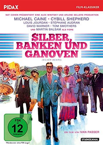 Silber, Banken und Ganoven (Silver Bears) / Brillante Gaunerkomödie mit Starbesetzung (Pidax Film-Klassiker)