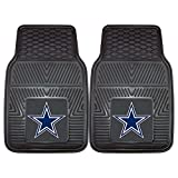 Product Image of the FANMATS - 8274 NFL Dallas Cowboys Vinyl Heavy Duty Car Mat,Set of two.