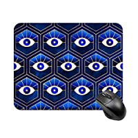 青い目マウスパッド ゲーミング オフィス最適 高級感 おしゃれ耐久性が良 付着力が強い20x25x0.3cm
