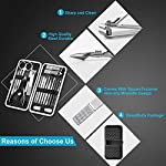 Beauty Shopping Manicure Set Nail Clippers Pedicure Kit -18 Pieces Stainless Steel Manicure Kit,