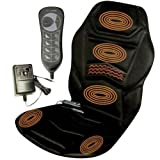 Heated Back Seat Padded Massage Cushion For Chair Home or Car Massage Seat Cover