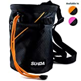 Sukoa Chalk Bag with Quick-Clip Belt and 2 Large...