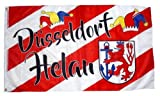 Fahne/Flagge Düsseldorf Helau Karneval Fasching 90 x 150 cm