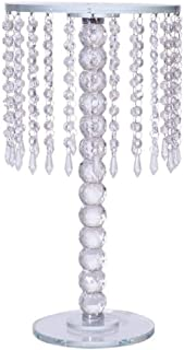 Chandelier Real Glass Crystal Cake Stands Cascading 18 inch