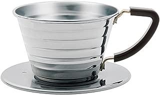 Kalita # #04021 Stainless Steel Wave 155 Coffee Dripper, Size