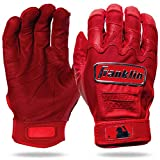 Franklin Sports CFX Pro Full Color Chrome Series Batting Gloves CFX Pro Full Color Chrome Batting Gloves, Red, Adult X-Large