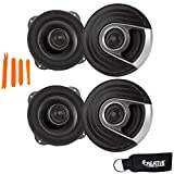 Polk MM522 5.25' Coaxial Speakers Bundle Includes 2 Pair with Marine and Powersports Certification