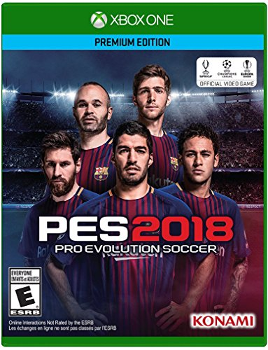 Konami Pro Evolution Soccer 2018 Básico Xbox One ENG vídeo – Juego (Xbox One, Deportes, Modo…