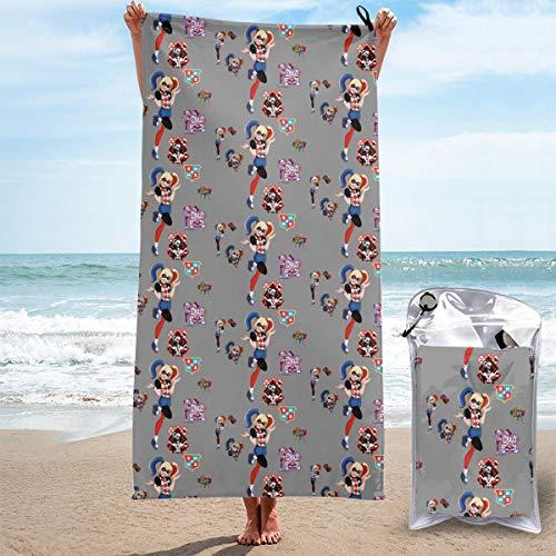 51Zvgpbh8BL._SL500_ Harley Quinn Bath Towels