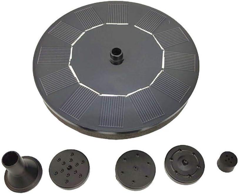 Popularity ninRYA Solar Fountains Pump Free Fountain Standing Pum Floating Max 62% OFF