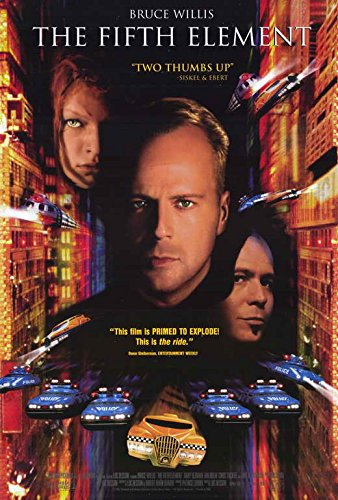 The Fifth Element Poster Movie (27 x 40 Inches - 69cm x 102cm) (1997) (Style C)