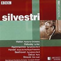 ウォルトン/ドビュッシー/ラフマニノフ/ヘンデル/ベートーヴェン/ディーリアス/R. シュトラウス:管弦楽作品集(シルヴェストリ)(1965-1967)